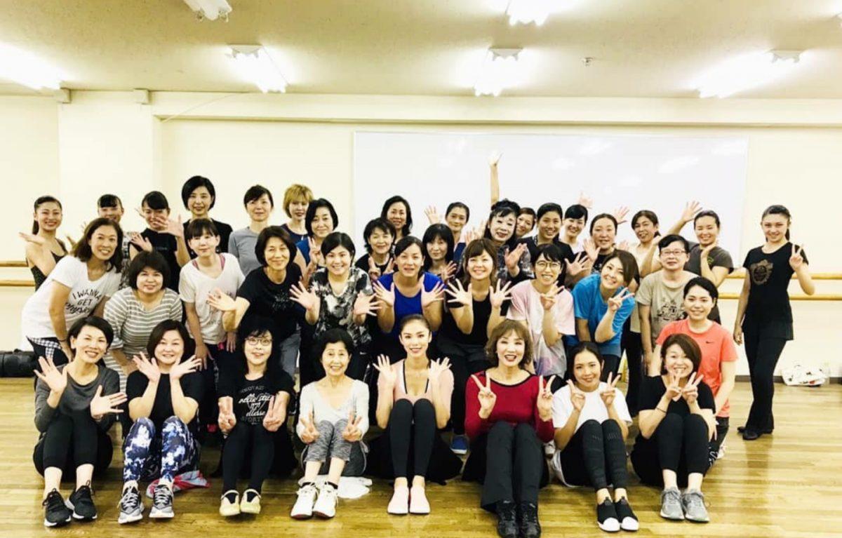森育子先生と理世先生がタックを組んだ美のレッスン♡